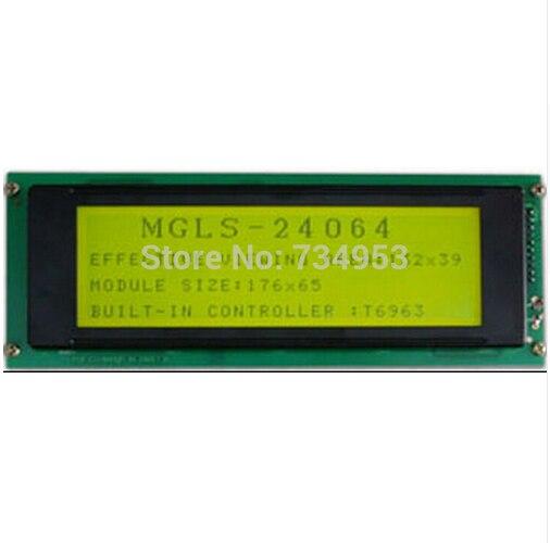 For New Lcd Panel for MGLS24064-17C эротическое белье женское avanua celia цвет черный 03574 размер s m 42 44