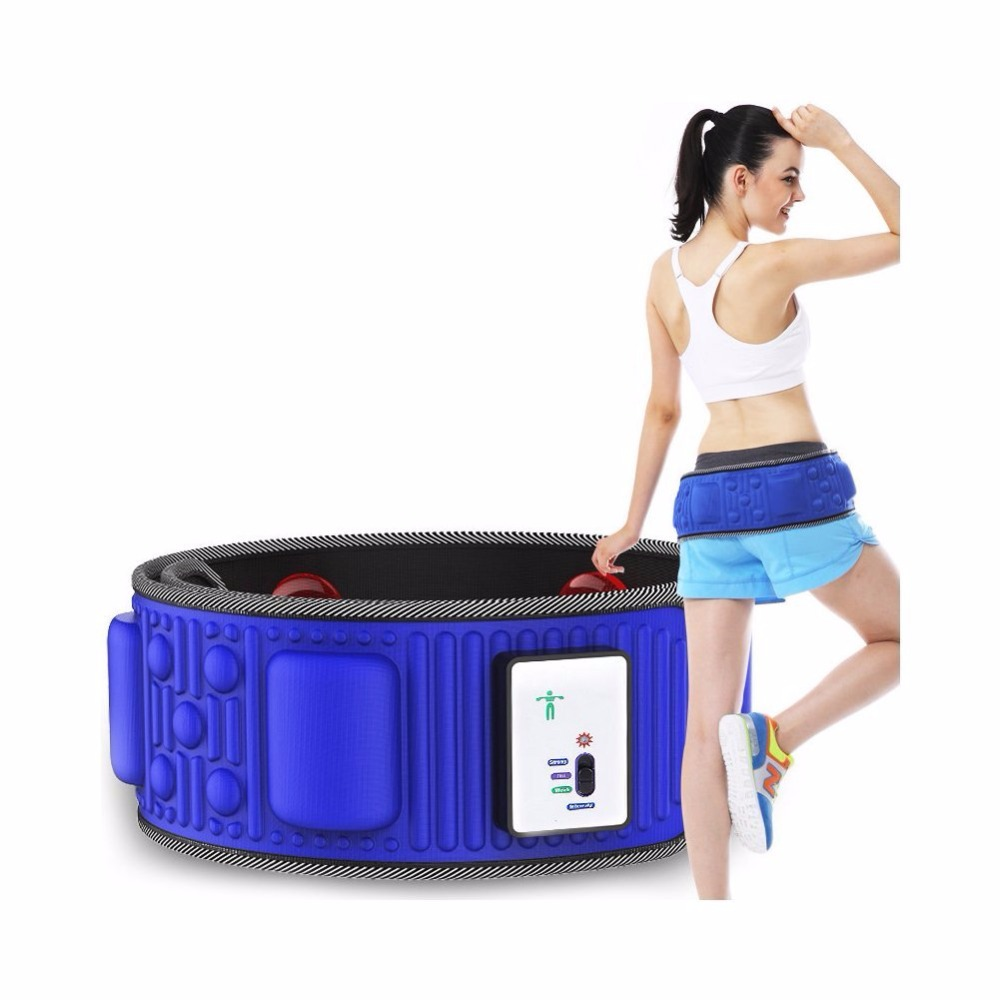 Slimming Belt Electric Weight Lose Belt Vibration Massage Burning Fat Lose Weight Shake Belt Waist Trainer Free Shipping electric lose weight waist massage rejection fat burning slimming vibration belt smt101