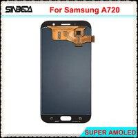 Sinbeda 100% Тесты 5,7 ''ЖК дисплей Дисплей для samsung Galaxy A7 2017 Сенсорный экран планшета Ассамблеи Замена для A720 ЖК дисплей Экран