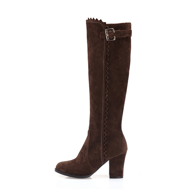 Image 5 - 2017 Winter Boots Botas Mujer Shoes Women Boots Fashion Motocicleta Mulheres Martin Outono Inverno Botas De Couro Femininas 721bota de couro femininabotas mujerbotas de couro -