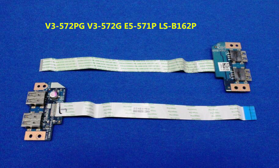 USB Board Fit For Acer Aspire V3 572PG V3 572G E5 571P Extensa 2510G LS B162P USB Board with cable|Motherboards| |  - title=