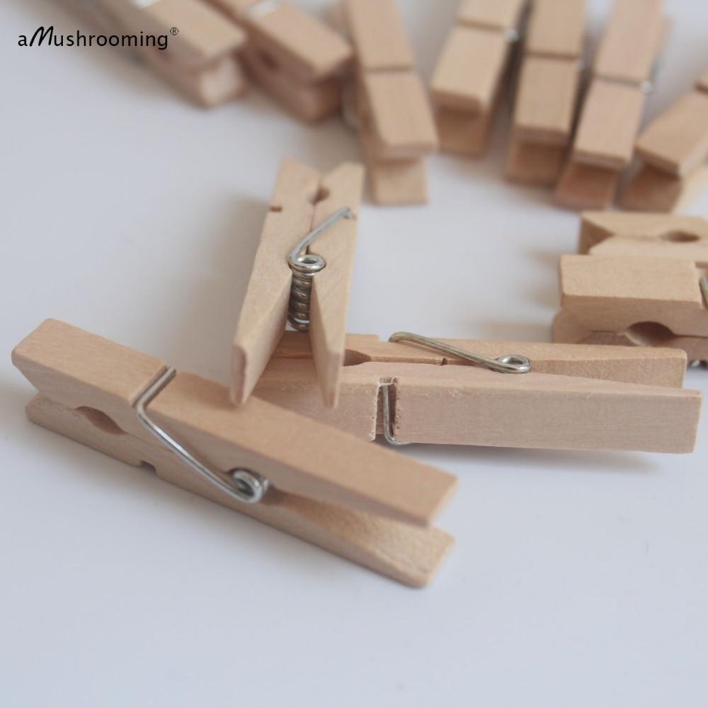 48 мм деревянные березовые булавки для одежды натуральная Одежда колышки оптом(10000 шт./лот) DIY Деревянные Ремесла вечерние Декор