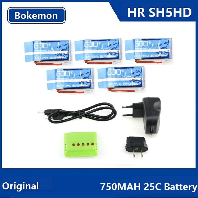 HR SH5 SH5HD RC Quadcopter Pièces De Rechange 750 mah 25C Batterie (Acheter 5 ensembles 25% OFF)