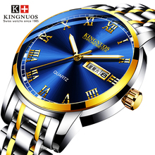 Men Sports Waterproof Date Analogue Stainless Steel Luxury Wrist Watches
