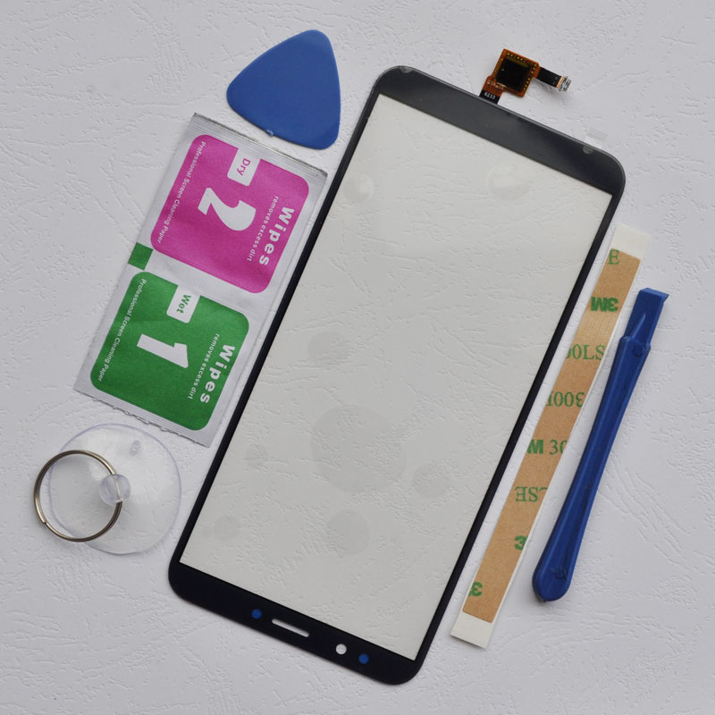 ZUCZUG Touch Screen Digitizer Sensor For Huawei Y7 2018 / Y7 Prime 2018 / Y7 Pro 2018 Sensitve Touch Panel Glass Front Sensor