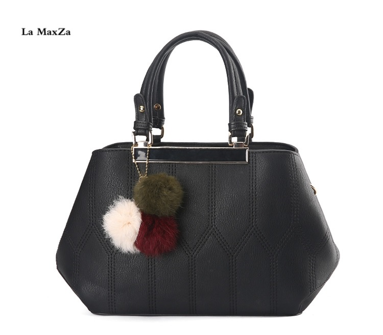 La MaxZa 2018 New Women Fashion Top-Handle Satchel Tote Bag Crossbody Bag PU Leather Purses and Handbags Shoulder Bags la maxza gifts for valentine s day leather tote bag for women large commute handbag shoulder bag zipper women s work satchel bag