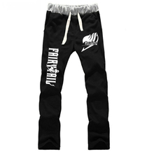 Anime Fairy Tail Guild Logo LOVERS pure cotton pants sports casual trousers cosplay gift NEW Fashion