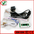 Zero Delay Arcade USB Encoder Play Station PC PS2 PS3 Joystick For Arcade Controllers 2Pin Rocker + Sanwa Push Buttons Cable