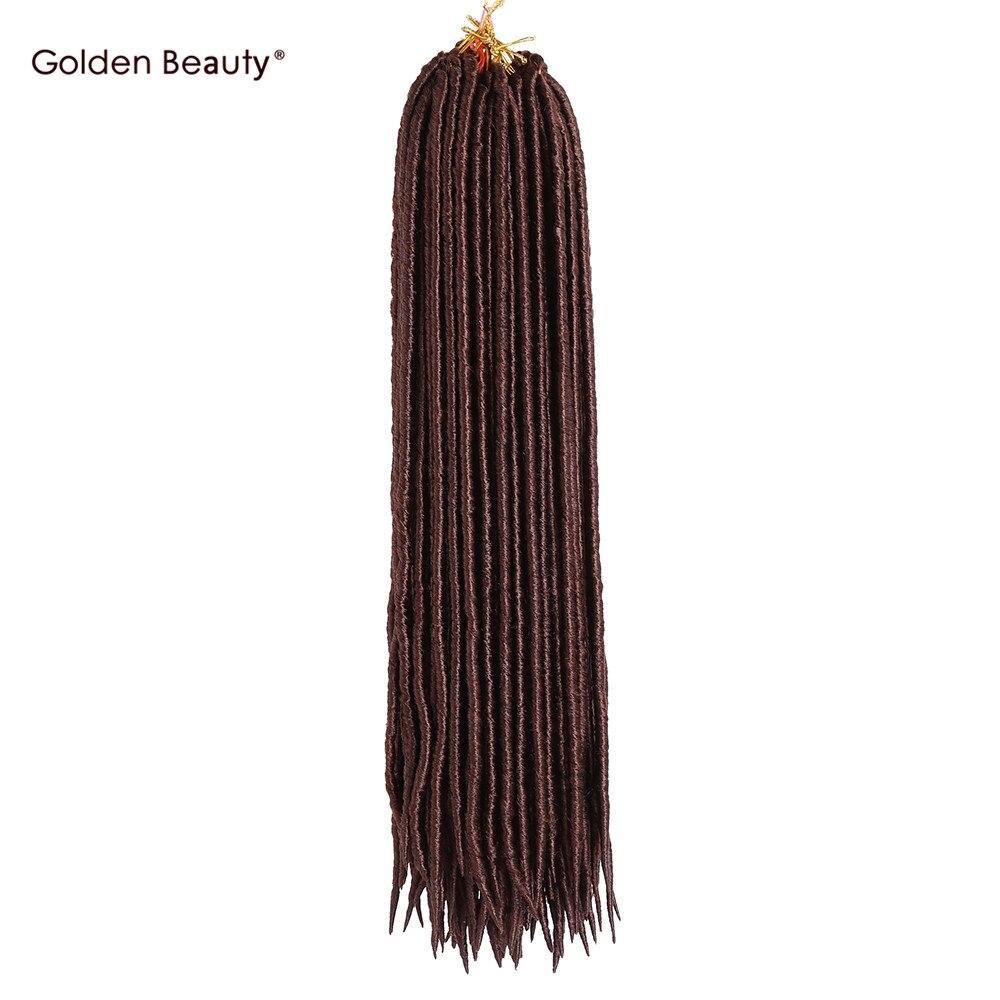 ᗑ】18 pulgadas sintéticas dreadlocks extensiones de cabello crochet ...