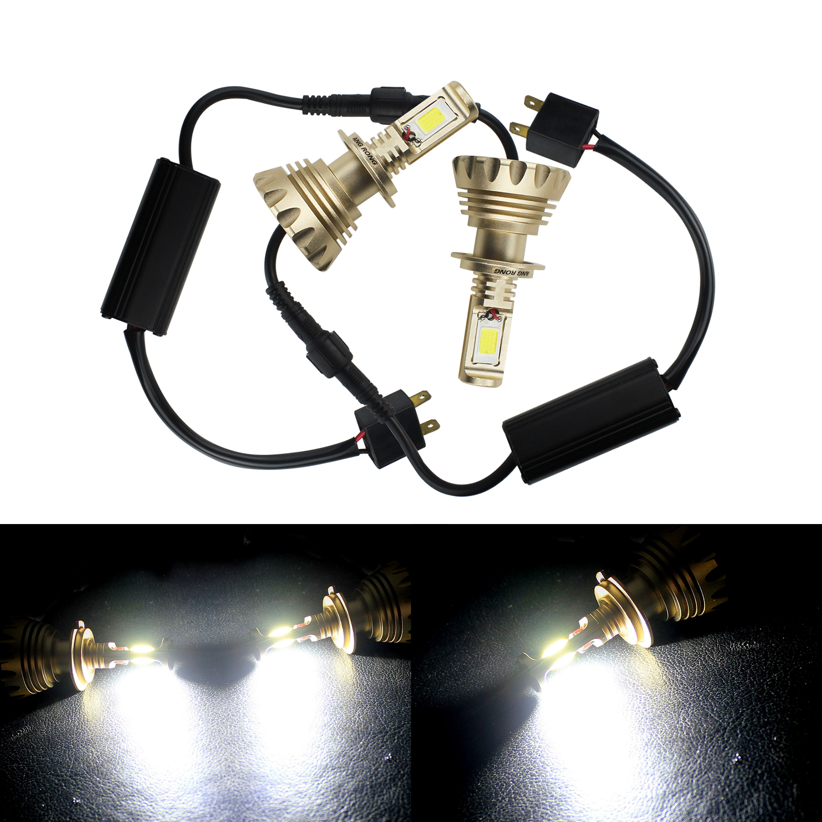 Led Verlichting Bmw X1 Goede Koop Angrong 2x H7 499 477 Px26d Cob 60 W Led Lamp