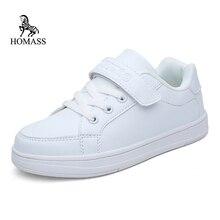 Homass Детские кроссовки кожаные сапоги для мальчиков и девочек мягкая подошва обувь детская спортивная обувь Детские кроссовки Детская беговая Обувь