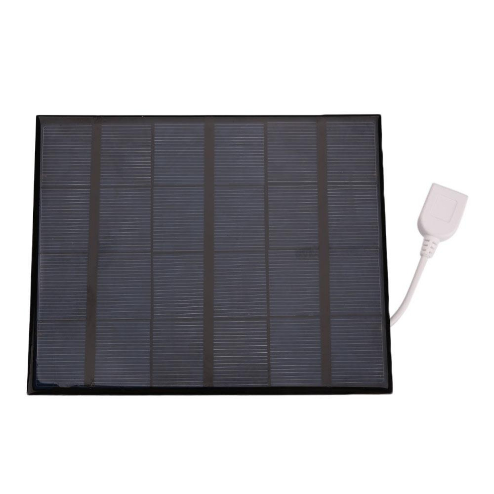 Amzdeal 2017 Usb Solar Power Panel Battery Charger Diy 6v 3.6w Solar Panel Bank For Android Mobile Smart Phone Portable Usb Gadgets Computer Peripherals