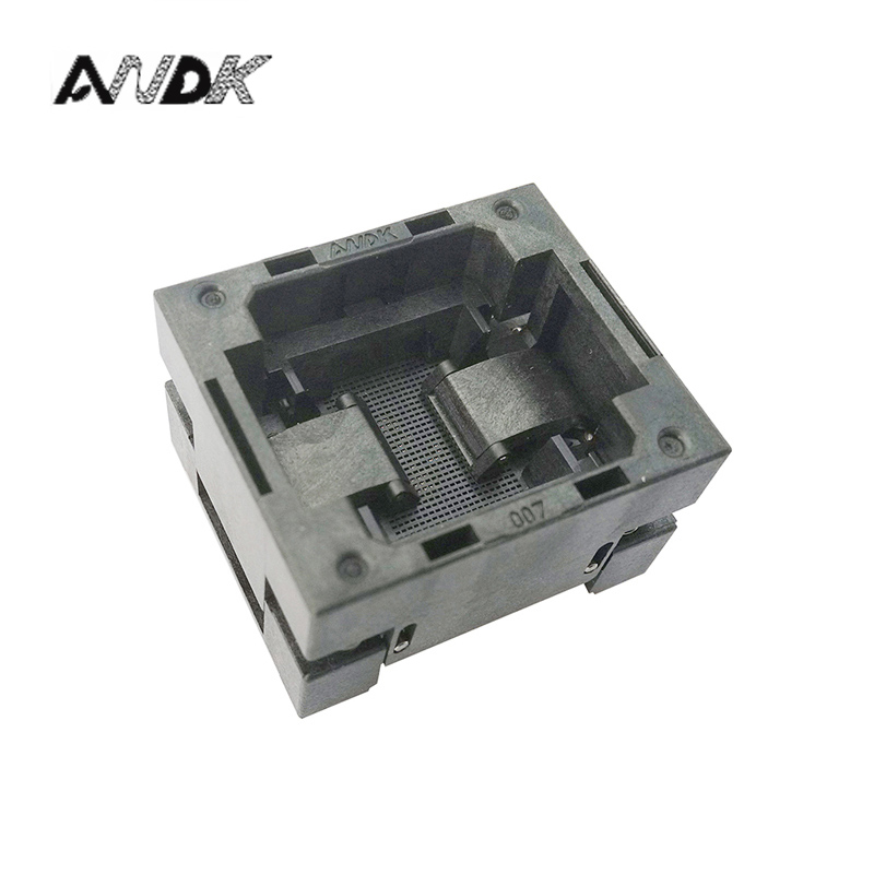 BGA140 OPEN TOP burn in socket pitch 0.65mm IC size 7*10mm BGA140(7*10)-0.65-TP01NT BGA140 VFBGA140 burn in programmer socket bga80 open top burn in socket pitch 0 8mm ic size 7 9mm bga80 7 9 0 8 tp01nt bga80 vfbga80 burn in programmer socket