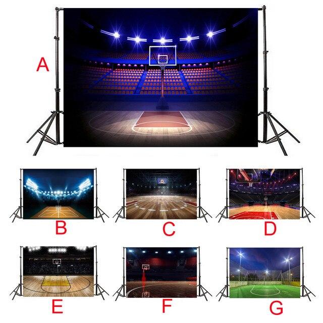 Фон для фотосъемки вечерние, настенные, фронтальное освещение, тема, Виниловый фон на заказ, фото, баскетбол, футбол, фоновые реквизиты A