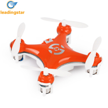 LeadingStar CX-10 Mini Drone 29mm 4CH 2.4 GHz 6-Axis Gyro dron con 360 Grados Función Rollover Recargables LED RC helicóptero