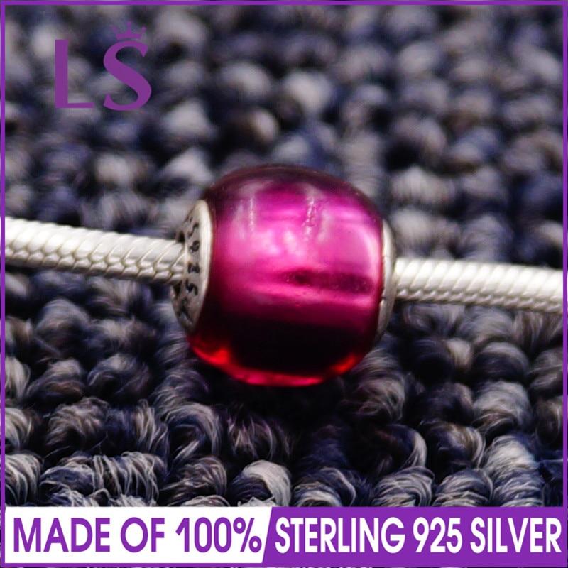 LS High Quality 100% S925 Silver Essence Passion Charm Beads Fit Original Essence Bracelets Pulseira Essencia.Real Fine Jewlery