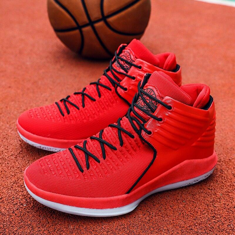 Basketball Schuhe Männer Zapatillas Hombre James Tenis Basketball Sneaker Komfortable High Top Gym Training Stiefel Stiefeletten Sport Delikatessen Von Allen Geliebt Turnschuhe Sport & Unterhaltung