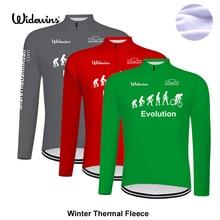 Здесь можно купить  new evolution Winter Cycling Jersey Long Sleeve Racing Bike Clothes Thermal Fleece Ropa Roupa Invierno MTB Bicycle Clothing 8023  Cycling