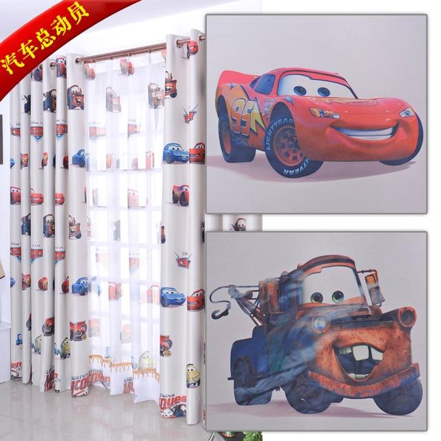 pao de la cortina ecolgico cortina nio de dibujos animados de coche para nios nios reales