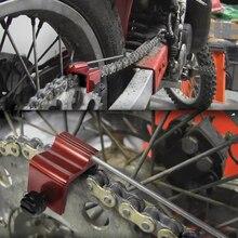 Мотокросс Металл сверхмощный Универсальный Велоспорт цепь Регулировка выравнивания инструмент для велосипеда мотоцикла Мотоцикл аксессуары