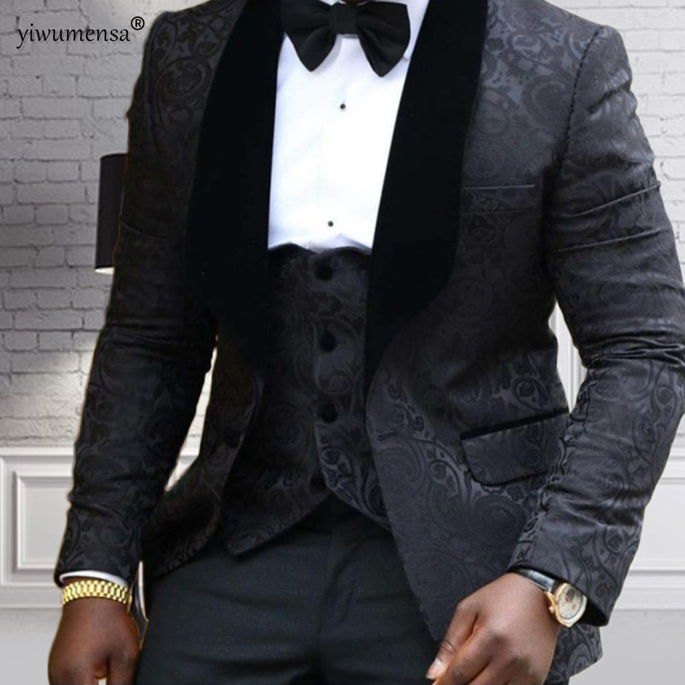 yiwumensa Men Suits 2018 Wedding Best Man Blazer