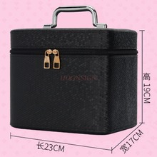Cosmetic Bag Large Capacity Box Multi Function Portable Storage Travel Bags Handbag Cosmetics Case Makeup Pack Make Up Packet цена и фото