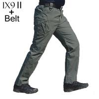 TAD IX9 II Militar Tactical Cargo Pants Men Combat SWAT Army Military Pants Cotton Pockets Paintball