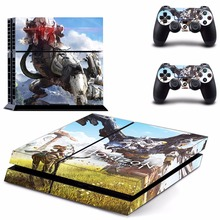 New Horizon Zero Dawn Decal PS4 Skin Sticker For Sony Playstation 4 PS4 Console +2Pcs Controllers