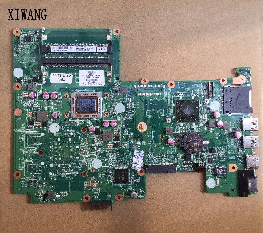 709173-501 Бесплатная доставка 709173-001 для HP Pavilion TouchSmart 15 15-b материнской A4-4355M Процессор. Все функции 100% полностью протестированы