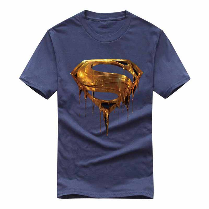 2018 Comic Logo Super Hero T-shirt Superman Batman Captain America Die Flash-wunder Film Männer Cosplay T-shirts Superhero Geek Te Den Speichel Auffrischen Und Bereichern