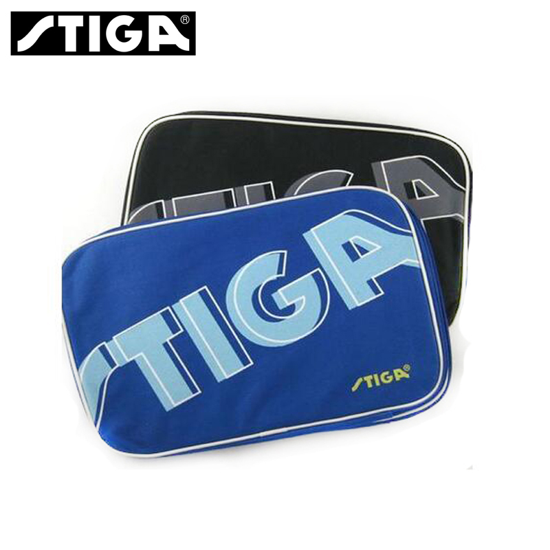 Soft Nylon Stiga Table Tennis Bag Ping Pong Paddles Cover Table Tennis  Accessories Racket Sports Bag Double Layer Free Shipping