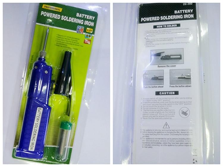 Soldering Iron 4.5V 8W Battery Powered Charging Solder Welding Pen Tool k