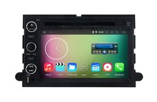 Quad core Android 5.1.1 Car DVD GPS for Ford Mustang Expedition Edge Fusion F150 F500 Escape with Mirror link Radio WiFi BT