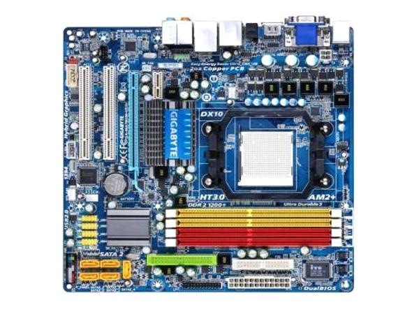 Gigabyte DDR2 HDMI DVI Desktop for Ga-Ma78gm-Us2h-Socket AM2/AM2 /AM3 USB2.0 16GB Original