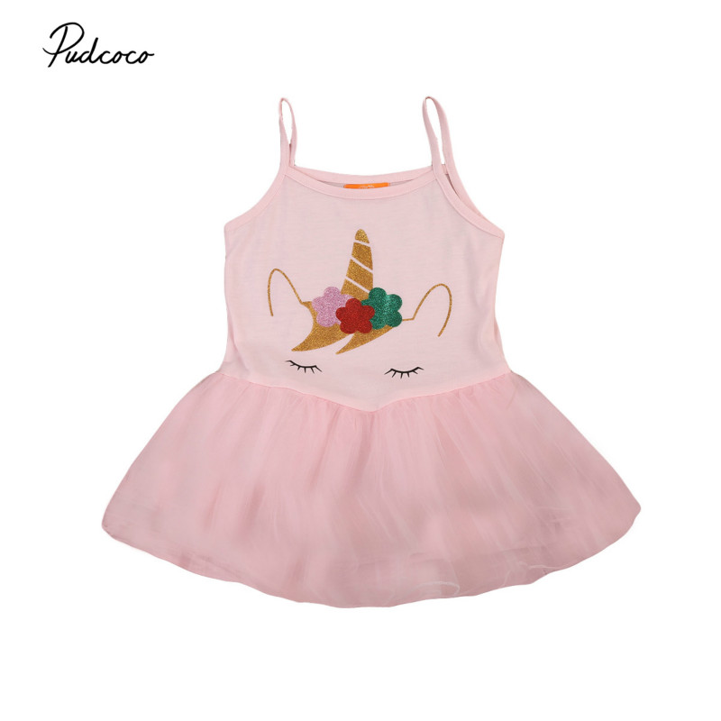 Cute Baby Girls Summer Princess MINI Dress Kids Toddler Baby Party Wedding Prom Tulle Tutu Pageant Dresses Sundress Clothes 2-5Y 2016 new cute baby girls dress kids princess party denim tulle bow belt tutu dresses 3 8y