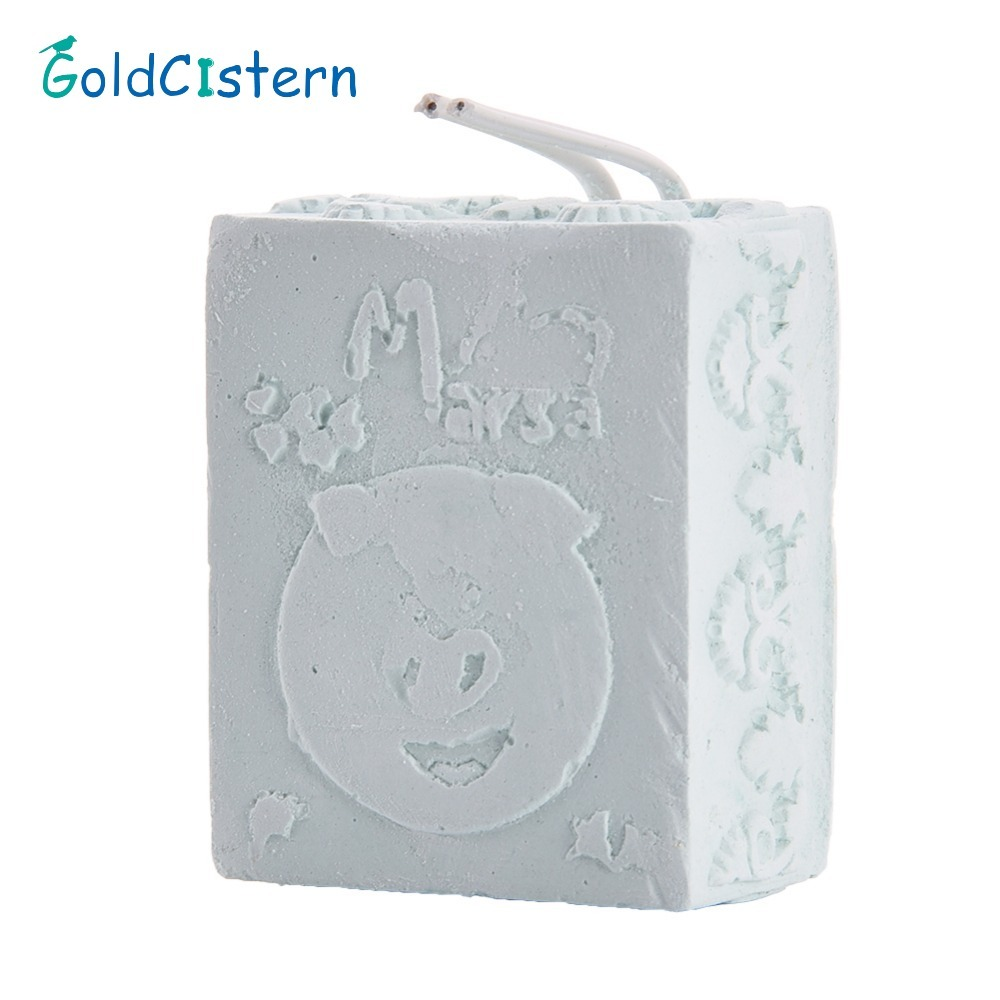 1 PC Hamster Grinding Stone Minerals Pig Shape font b Pet b font Molar Stone Chew