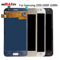 SzHAIyu Tested Well LCD Display Touch Screen For Samsung Galaxy J2 2015 J200 J200F J200Y LCD