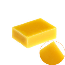 Hot Sale 30*40*14mm 100% Organic Natural Pure Beeswax 15G Ballina Honey Wax Bee Cosmetic maintenance protect Wood furniture(China)