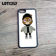 Kanye West Dropout Bear Fashion Soft TPU Cell Phone Cases For Apple iPhone  4S 5S SE f57d84de6058