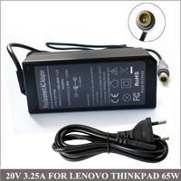 20V 3 25A 65W Notebook Charger AC Adapter For Cadernos Lenovo IBM ThinkPad Z61 Z60m Z61m