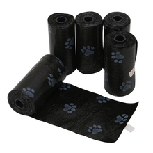 5Rolls/Pack Dog Poop Bag for Pets Waste Garbage Bags Carrier Biodegradable Clean-up Pick Up Clean For