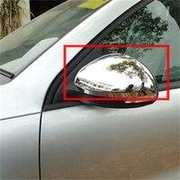 For Volkswagen VW Tiguan 2009 2010 2012 2013 2014 2015 ABS Chromium Side Door Rearview Mirror