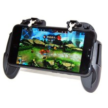 Upgrade H6 PUBG Mobile Phone Game Controller Joystick Cooling Fan Gamepad For iPhone SamSung Xiaomi ROG(China)
