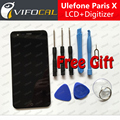 Ulefone Paris X LCD Display Touch Screen + Tools 100% Original 1280x720 HD Digitizer Assembly Replacement For Mobile Phone