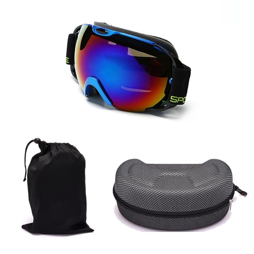 Professional upmarket ski glasses ski goggles double layers UV400 anti-fog big ski mask glasses skiing snowboard goggles box-09
