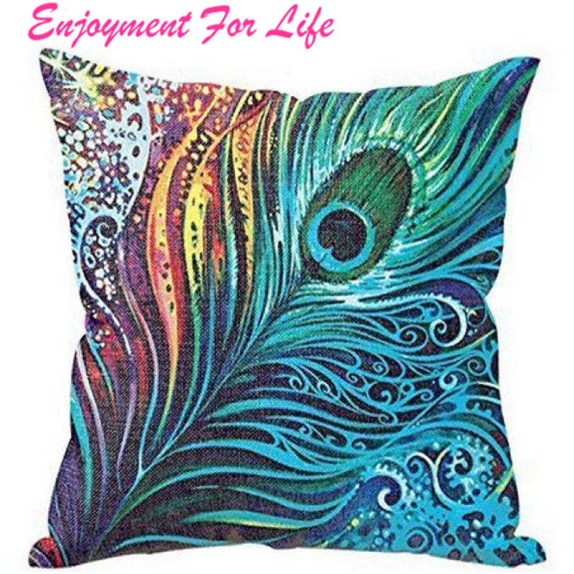 Peacock Sofa Elegant Nice Bed Home Decor Pillow Case Cushion Cover High  Quality Hot Sale For New Arrival Free Shipping Nov 8. Nice Sofas Sale Promotion Shop for Promotional Nice Sofas Sale on