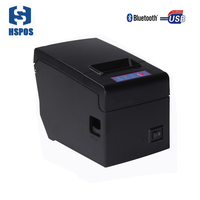Cheap 58mm bluetooth printer with IOS & Android pos thermal printer high speed printing for restaurant