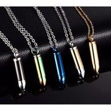 Bullet Shape Urn Necklace