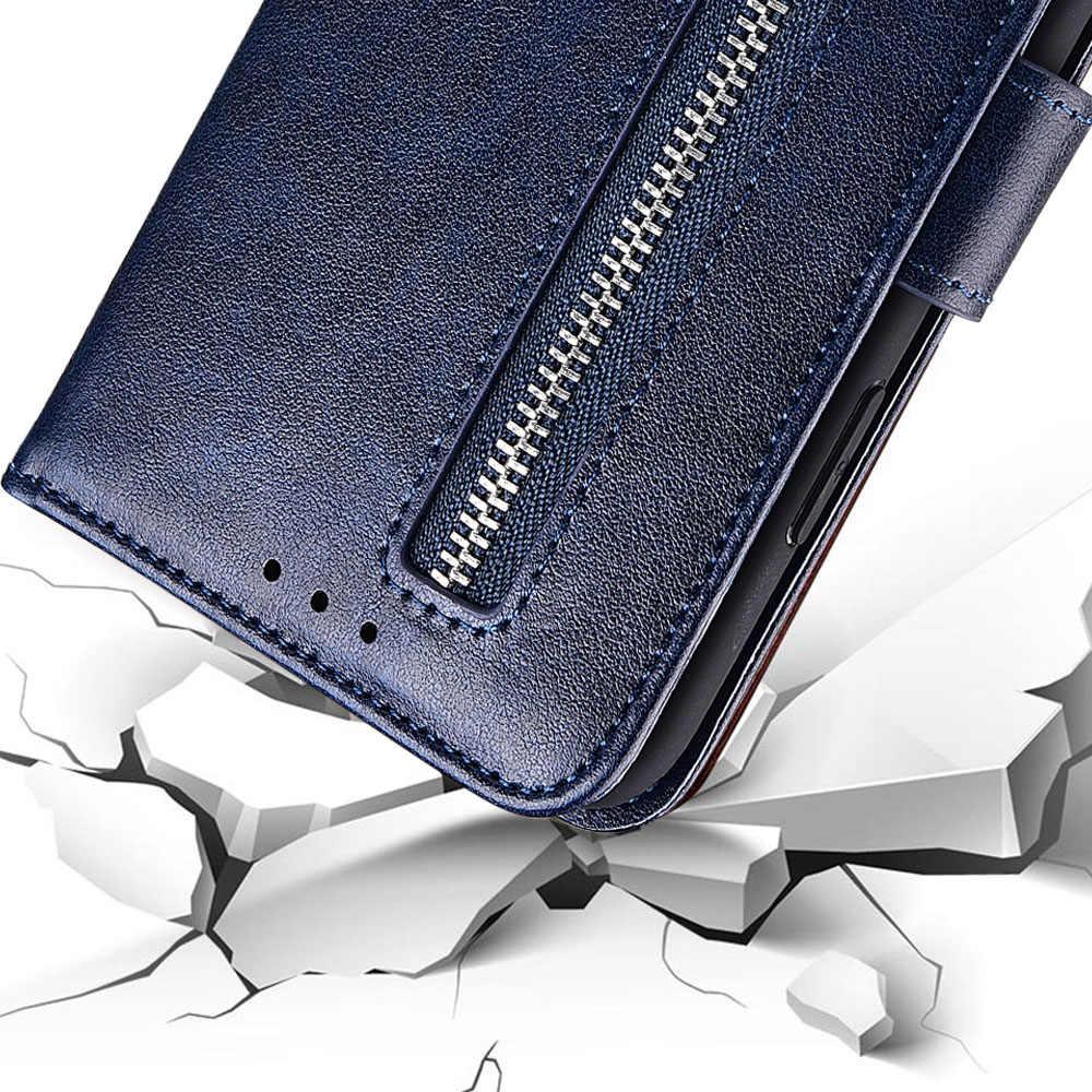 PU Leder Zipper Wallet Fall für NOKIA X5 Abdeckung Mit Gurt Telefon Fall Für NOKIA X5 Ständer Ausgestattet Fall Shell