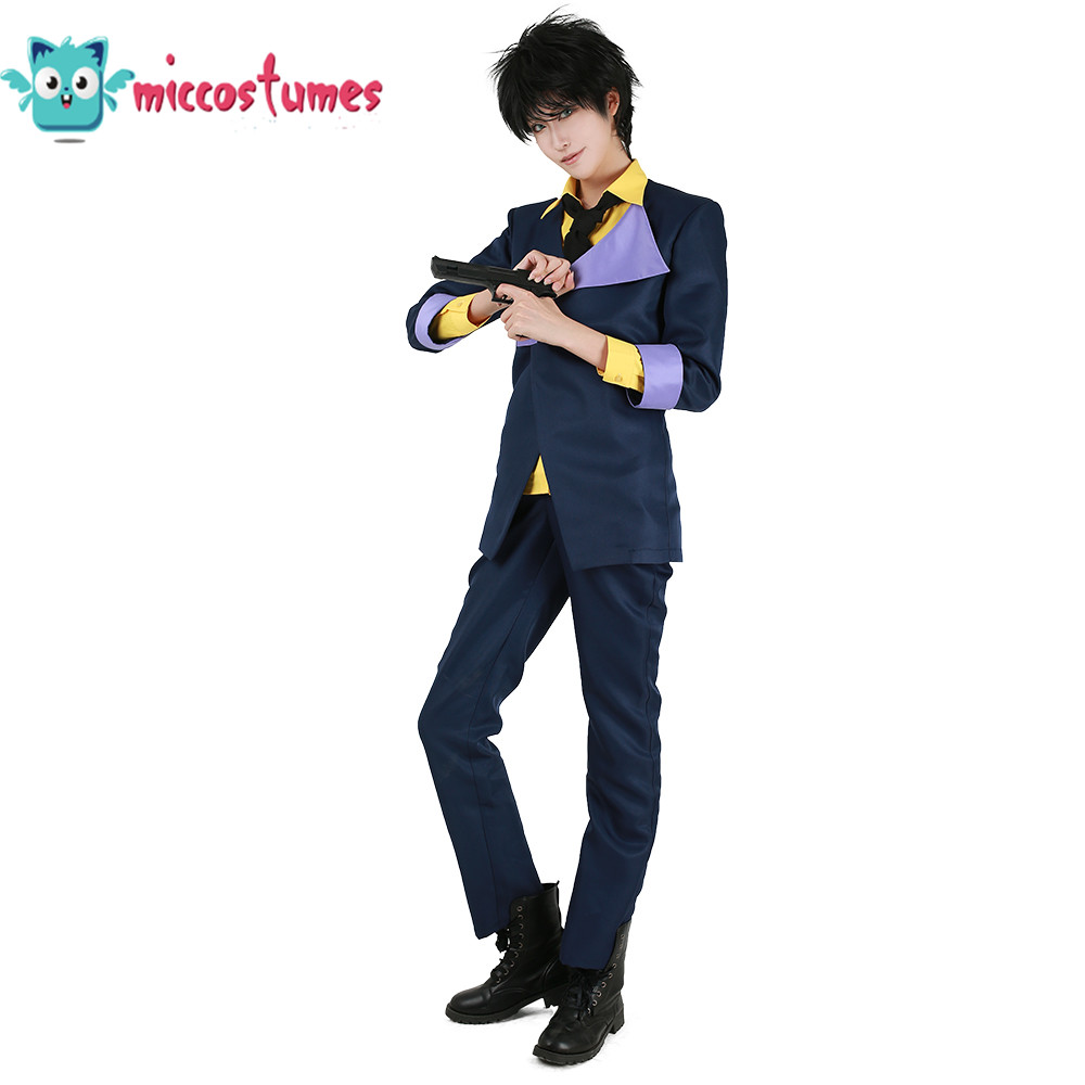 Cowboy Bebop Spike Spiegel Cosplay Costume Man Halloween Outfit
